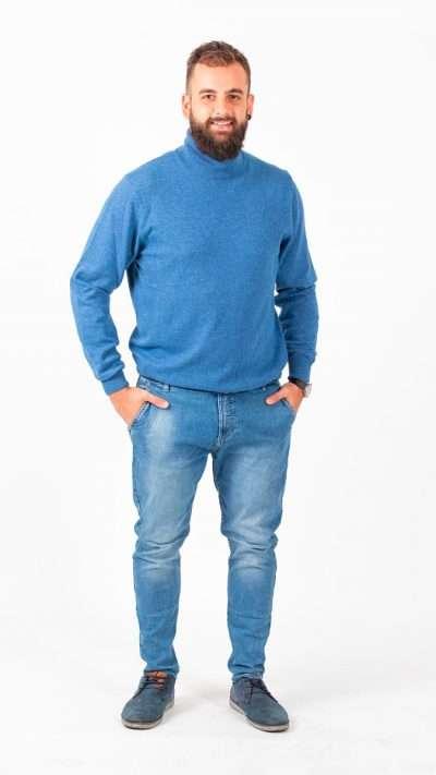 Dolcevita manica lunga - Aosta Cashmere - Moda & Moda