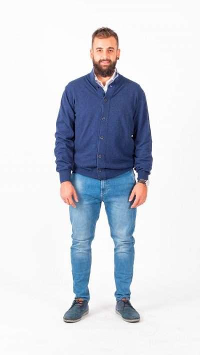 Giacca bottoni - Aosta Cashmere - Moda & Moda