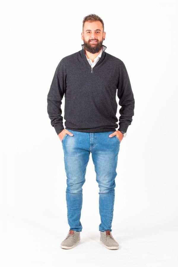 Mezza Zip - Aosta Cashmere - Moda & Moda